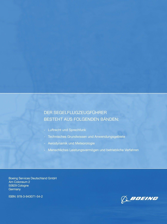 Lehrbuch - Der Segelflugzeugführer: Luftrecht und Sprechfunk