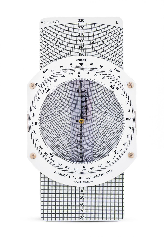 Pooleys Navigationsrechner CRP - 1W