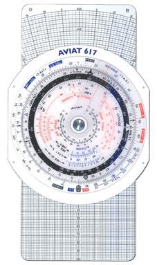 Pooleys Navigationsrechner Aviat 617