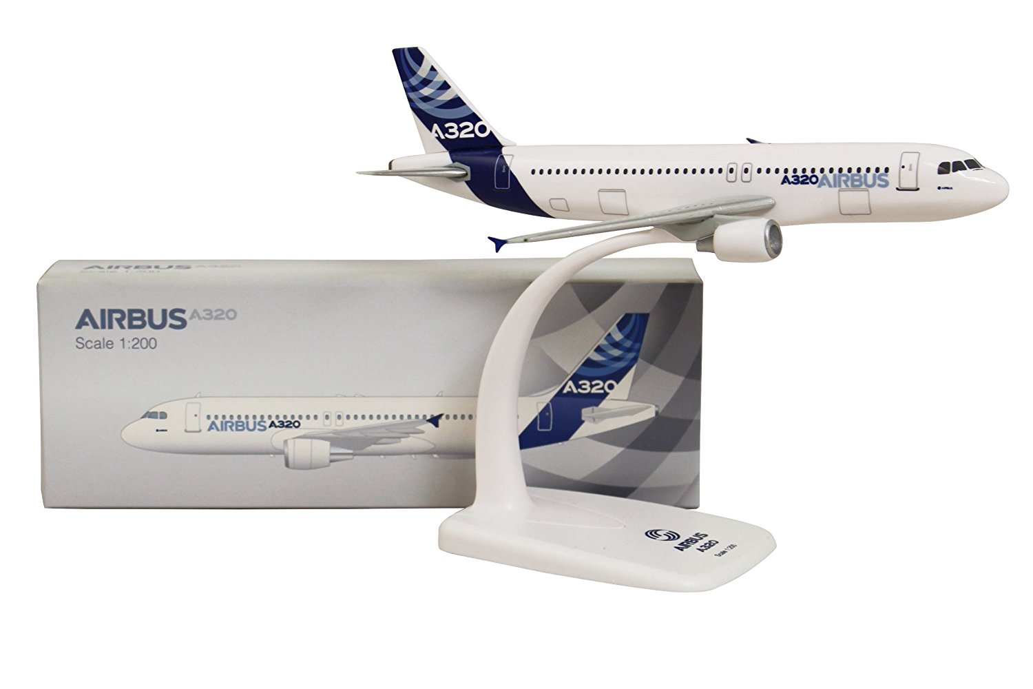 Limox - Flugzeugmodell Airbus 320-200 House Colour (1:200)