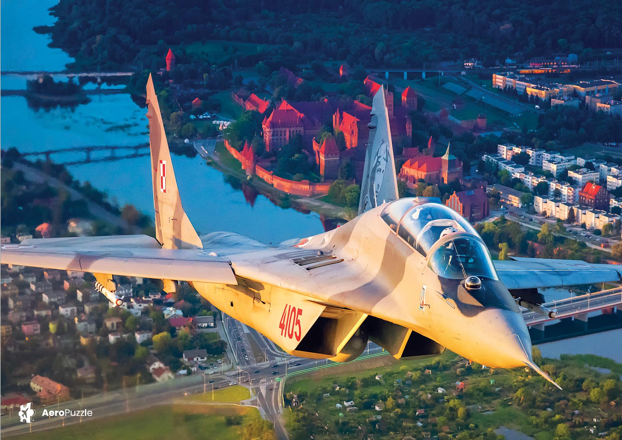 eroPuzzle flight puzzle - MiG - 29