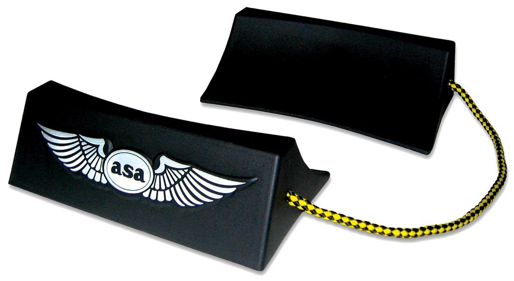 ASA Flugzeug-Bremsklötze Wheel Chocks