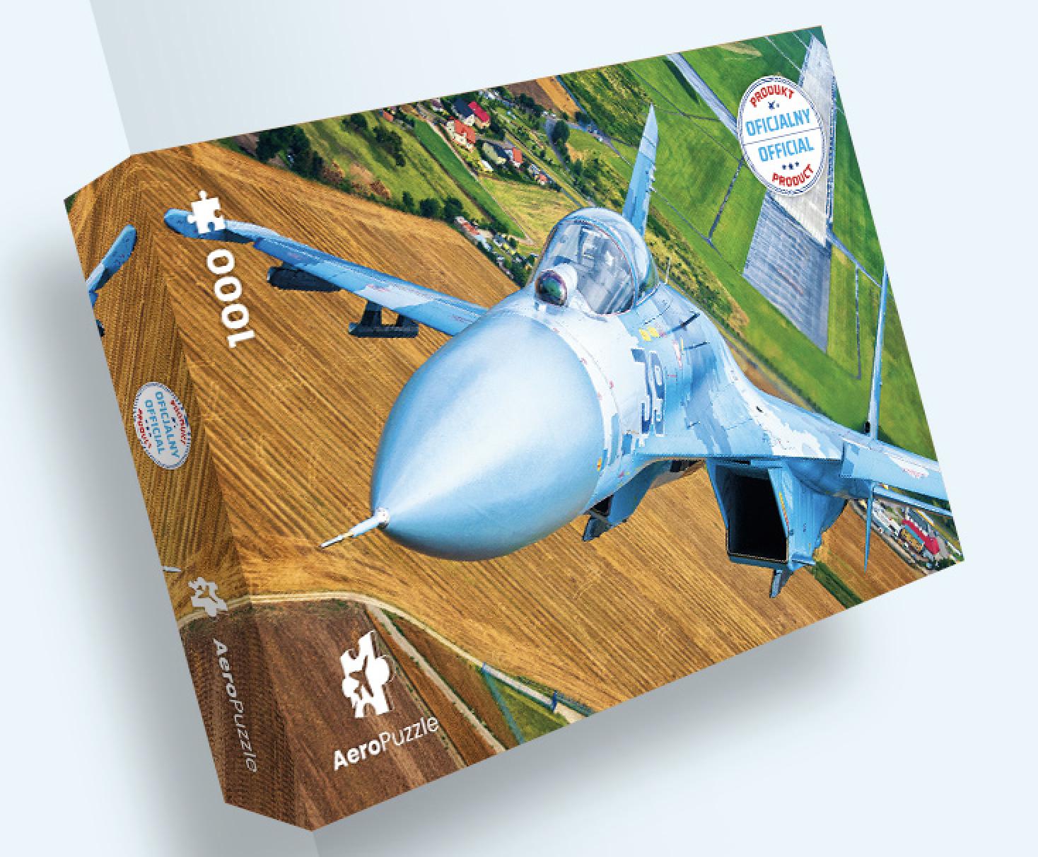 AeroPuzzle flight puzzle - Su-27