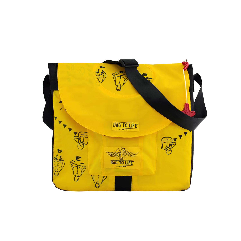 BACK TO LIFE Notebook-/ Laptoptasche Jumbo Laptop Bag