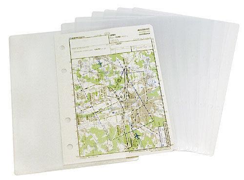 "Design4Pilots Plastikhüllen für Pilotenkniebrett ""Profi"" A5"