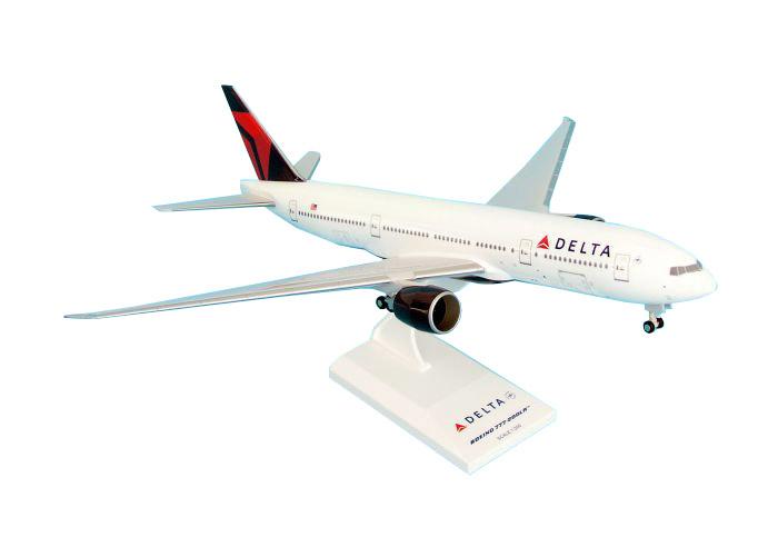 SkyMarks Flugzeugmodell Delta Airlines Boeing 777-200 Maßstab 1:200