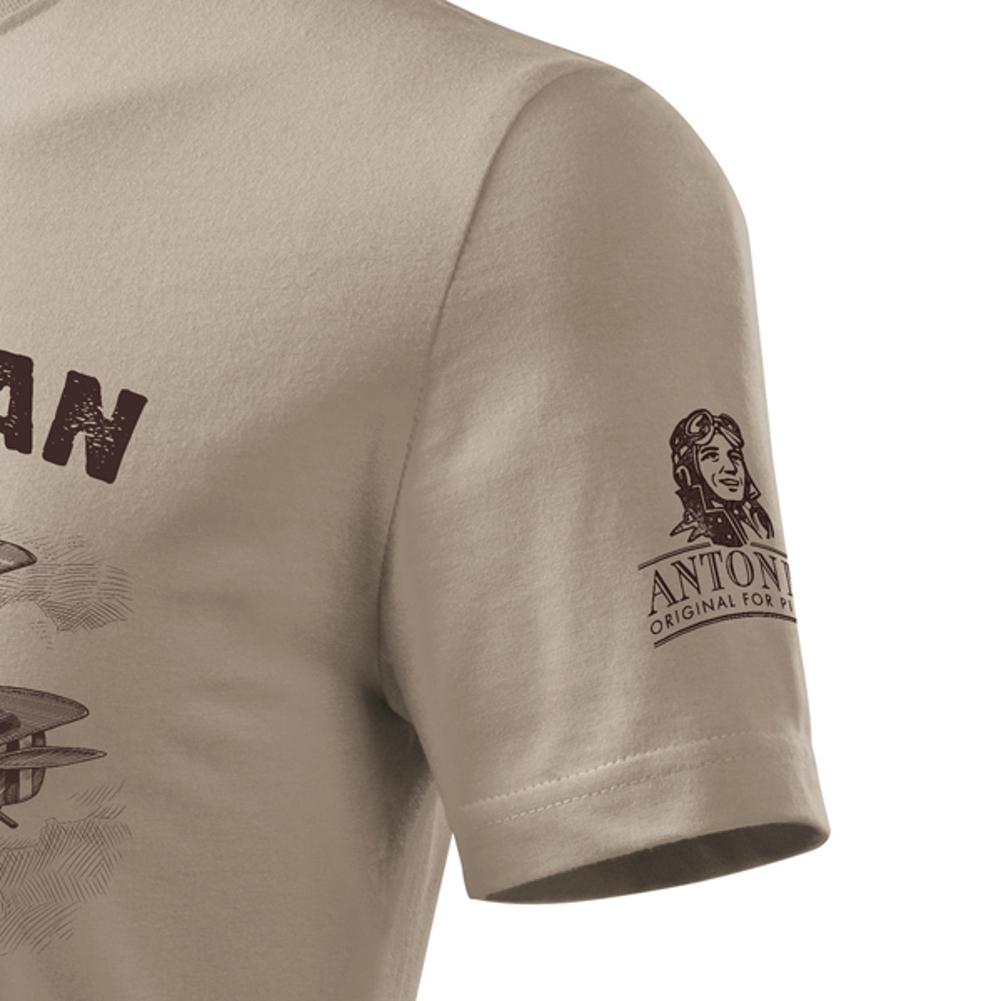 Antonio - T-Shirt Doppeldecker Sopwith F-1 Camel