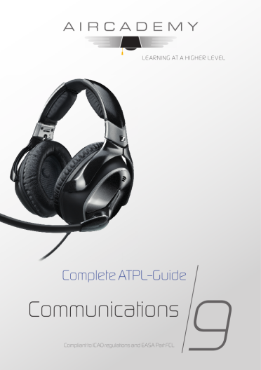 Volume 9: Communications - Complete ATPL-Guide