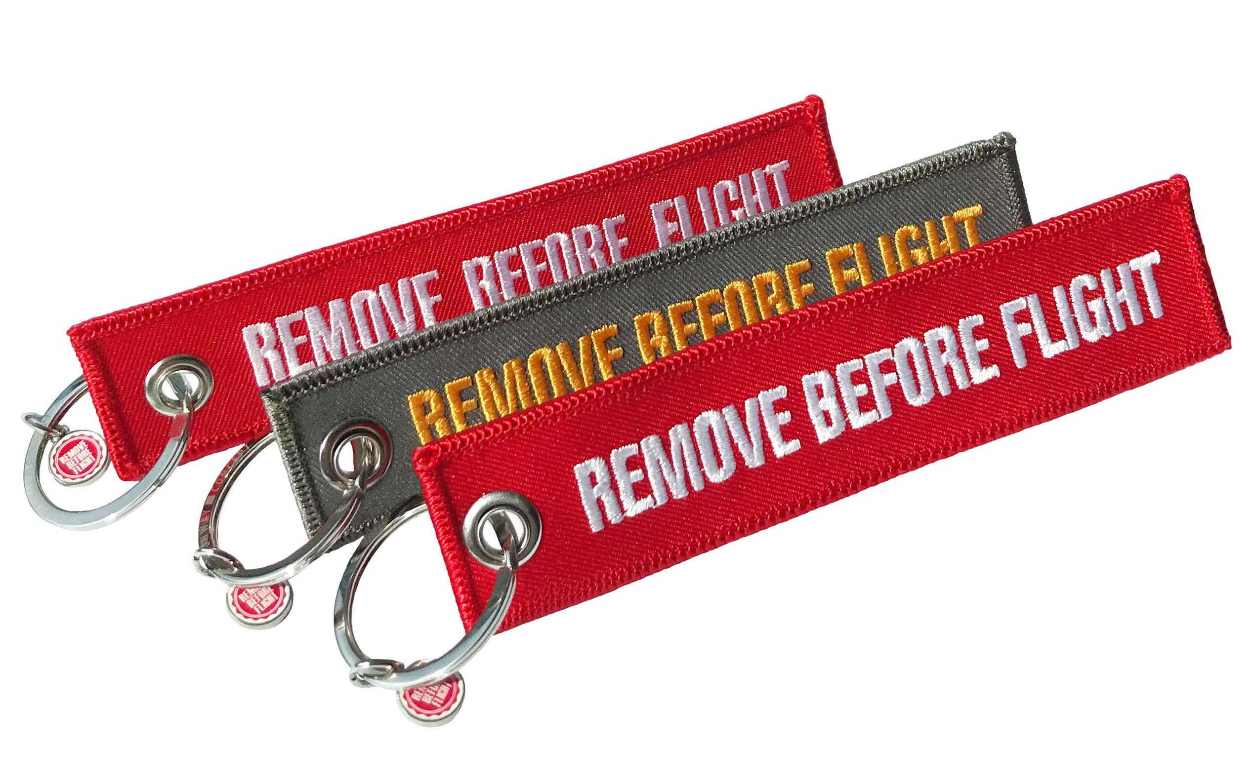 RBF Schlüsselanhänger Condor / Remove Before Flight 3er-Set