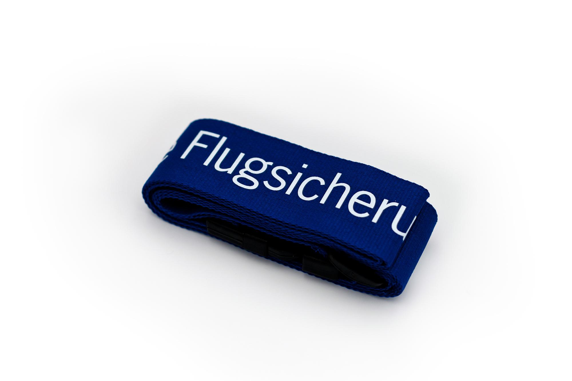 DFS-Kofferband mit Druck Deutsche Flugsicherung