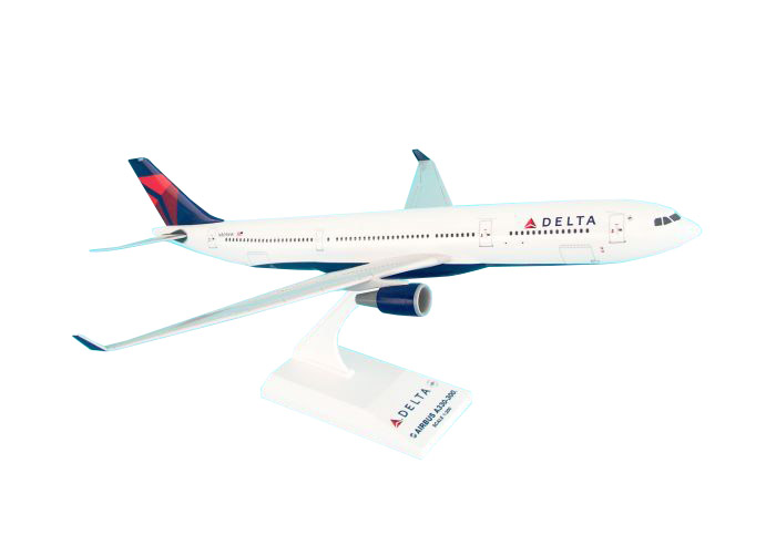 SkyMarks Flugzeugmodell Delta Airlines Airbus A330-300 Maßstab 1:200