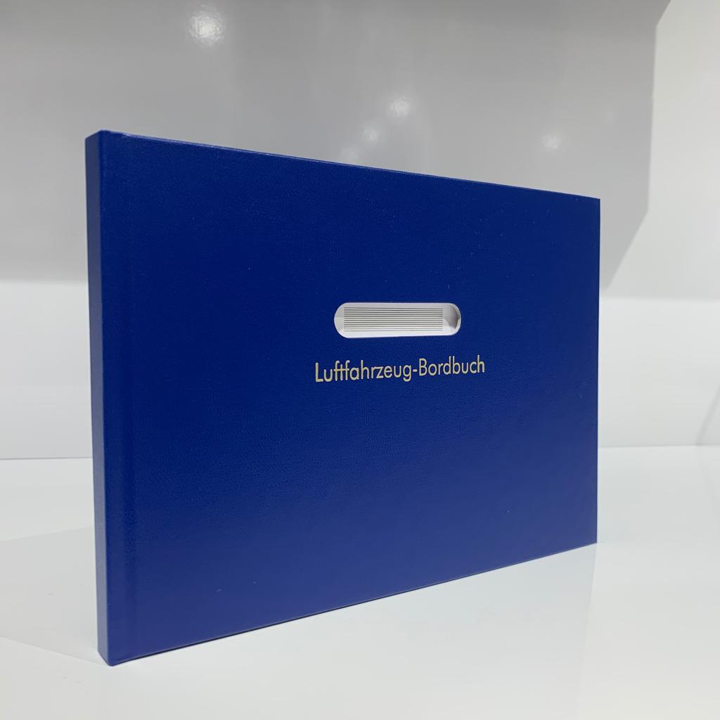 Bordbuch für Motorflugzeuge A5 Hardcover