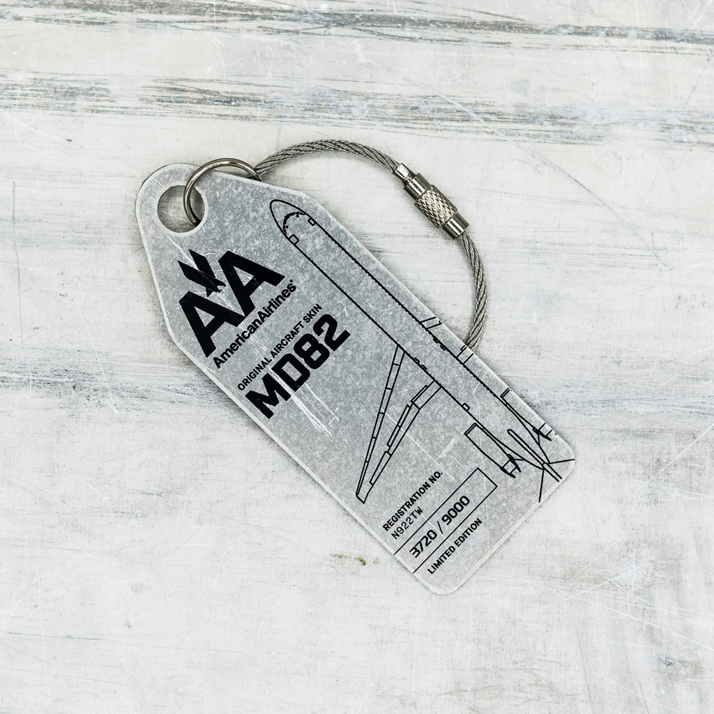 Aviationtag American Airlines MD82 – N922TW