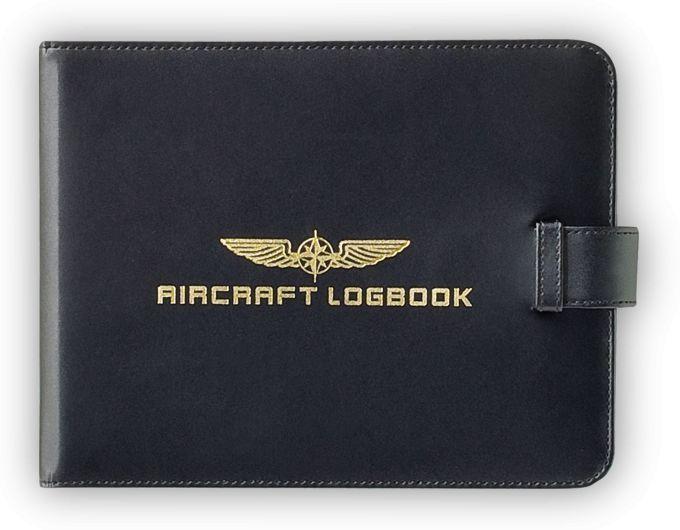 """Design4Pilots - Schutzhülle für Flugzeugbücher """"Aircraft Logbook"""""""