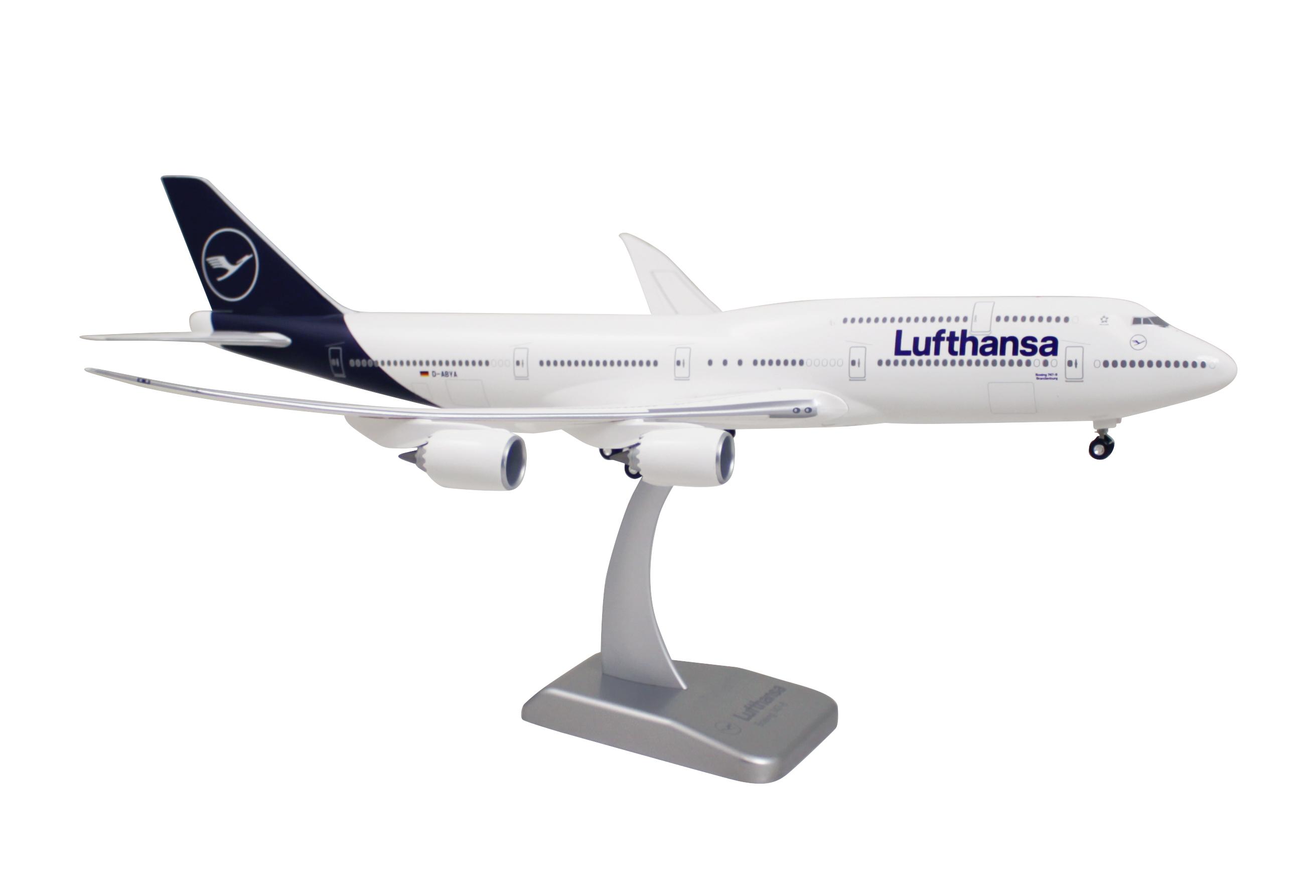 Limox - Lufthansa Boeing 747-8 New Livery 1:200