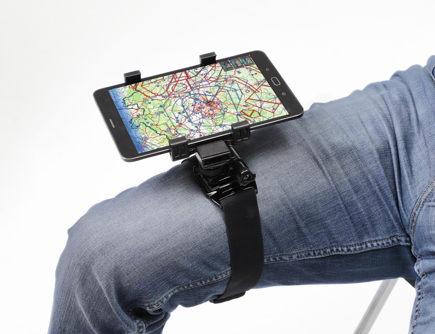 Dream Pilot Piloten-Kniebrett für Smartphones und Mini-Tablets