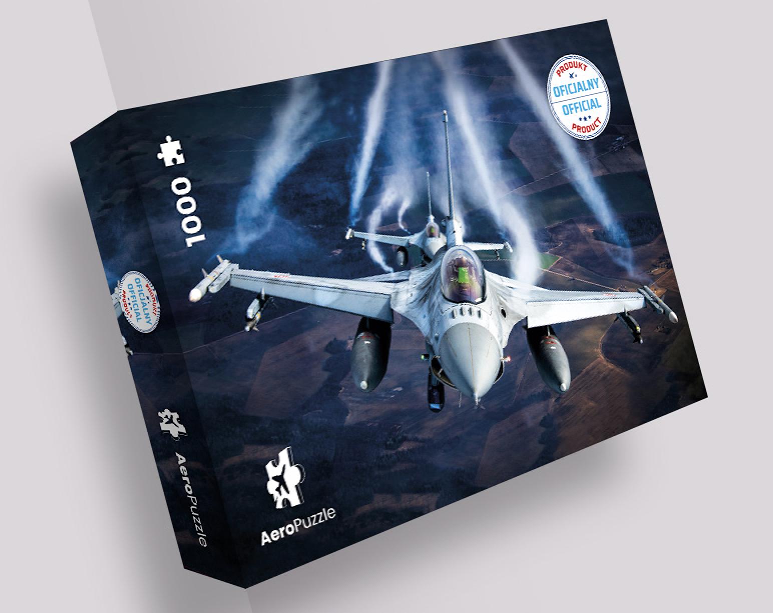 AeroPuzzle flight puzzle - F-16 - Baltic Air Policing
