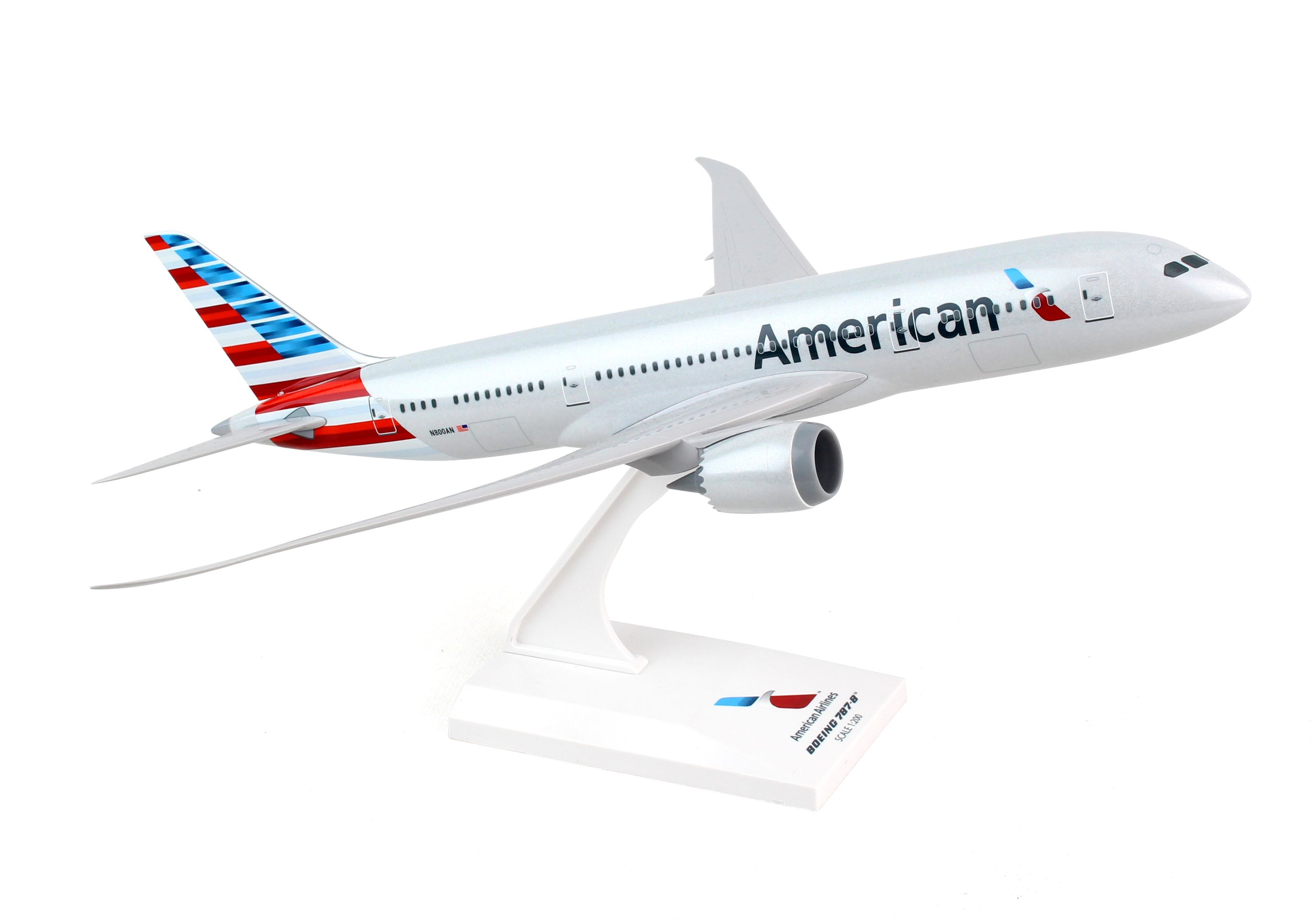 SkyMarks Flugzeugmodell American Airlines Boeing 787-8 Maßstab 1:200