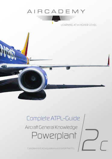 Volume 2c: Aircraft General Knowledge (Powerplant) - Complete ATPL-Guide