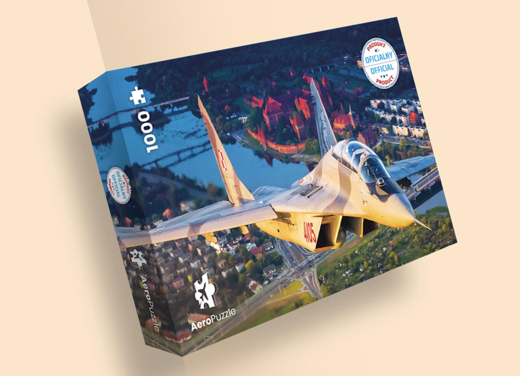 AeroPuzzle flight puzzle - MiG - 29