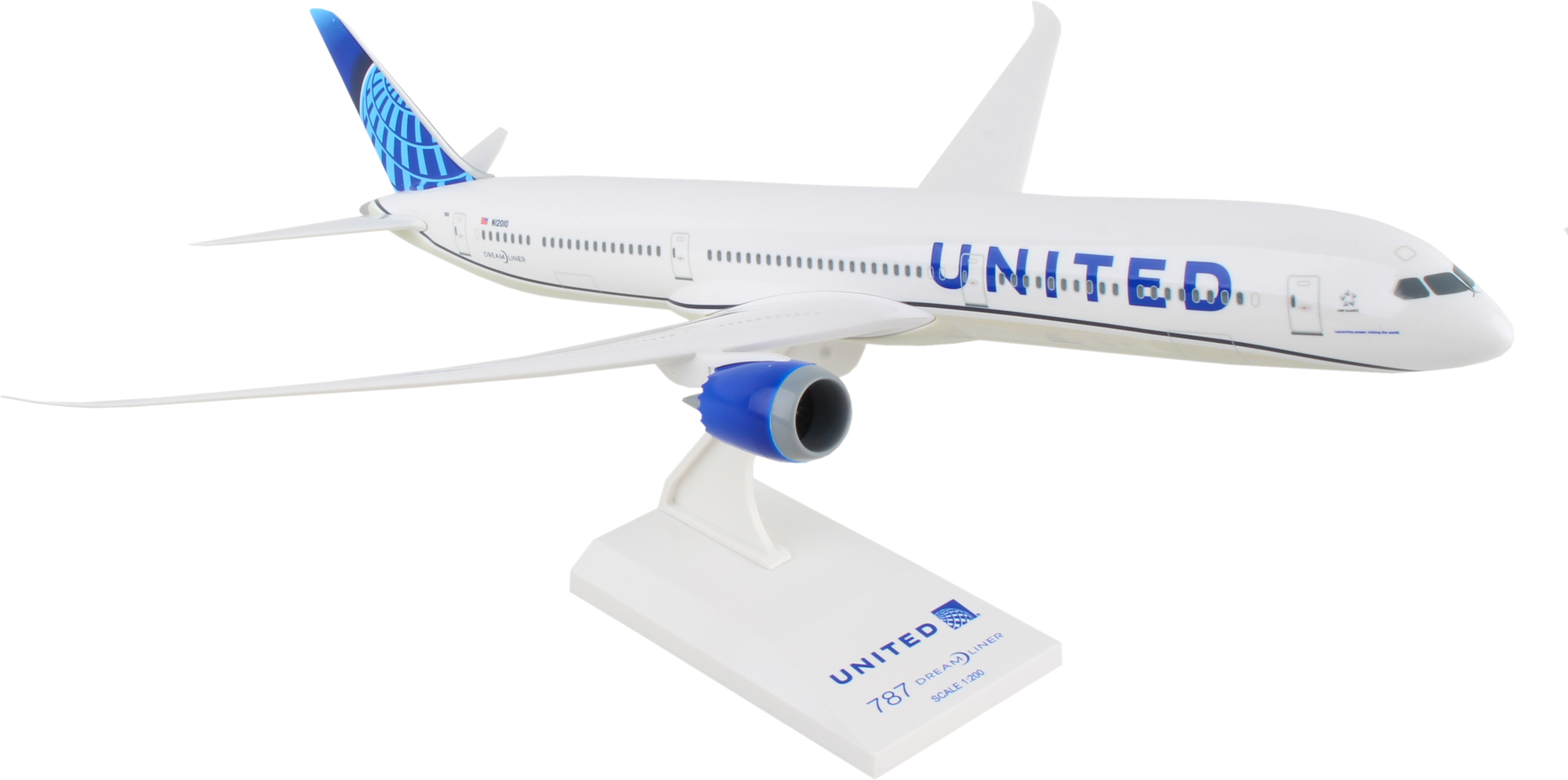 SkyMarks United Airlines Boeing 787-10 New Livery Maßstab 1:200