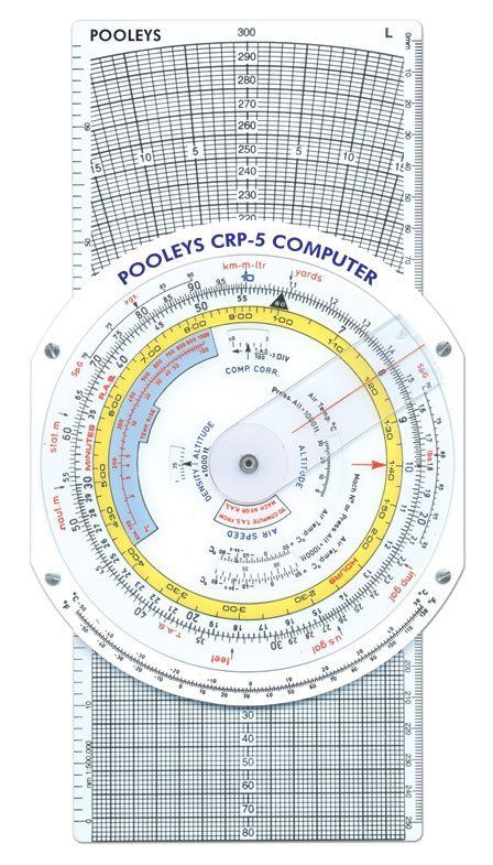 Pooleys Navigationsrechner CRP - 5W