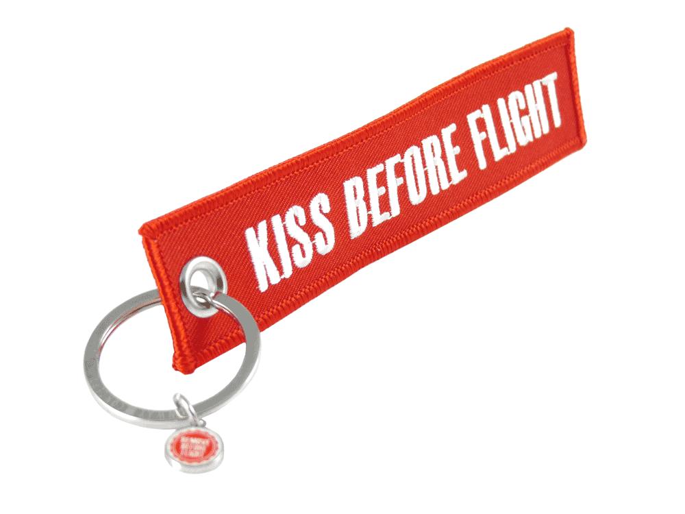 "RBF-Originals Schlüsselanhänger ""Kiss Before Flight"""