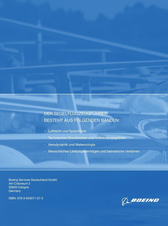 Lehrbuch - Der Segelflugzeugführer: Technisches Grundwissen und Anwendungsgebiete