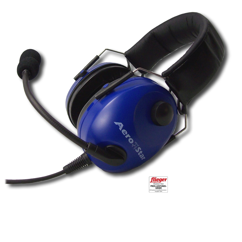 Aero-Star Piloten-Headset für Flugzeuge