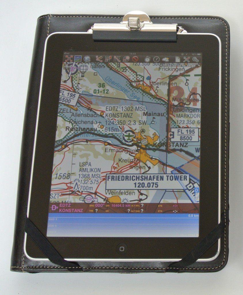 The Aviators Choice - Kniebrett-Organizer XL für Tablets