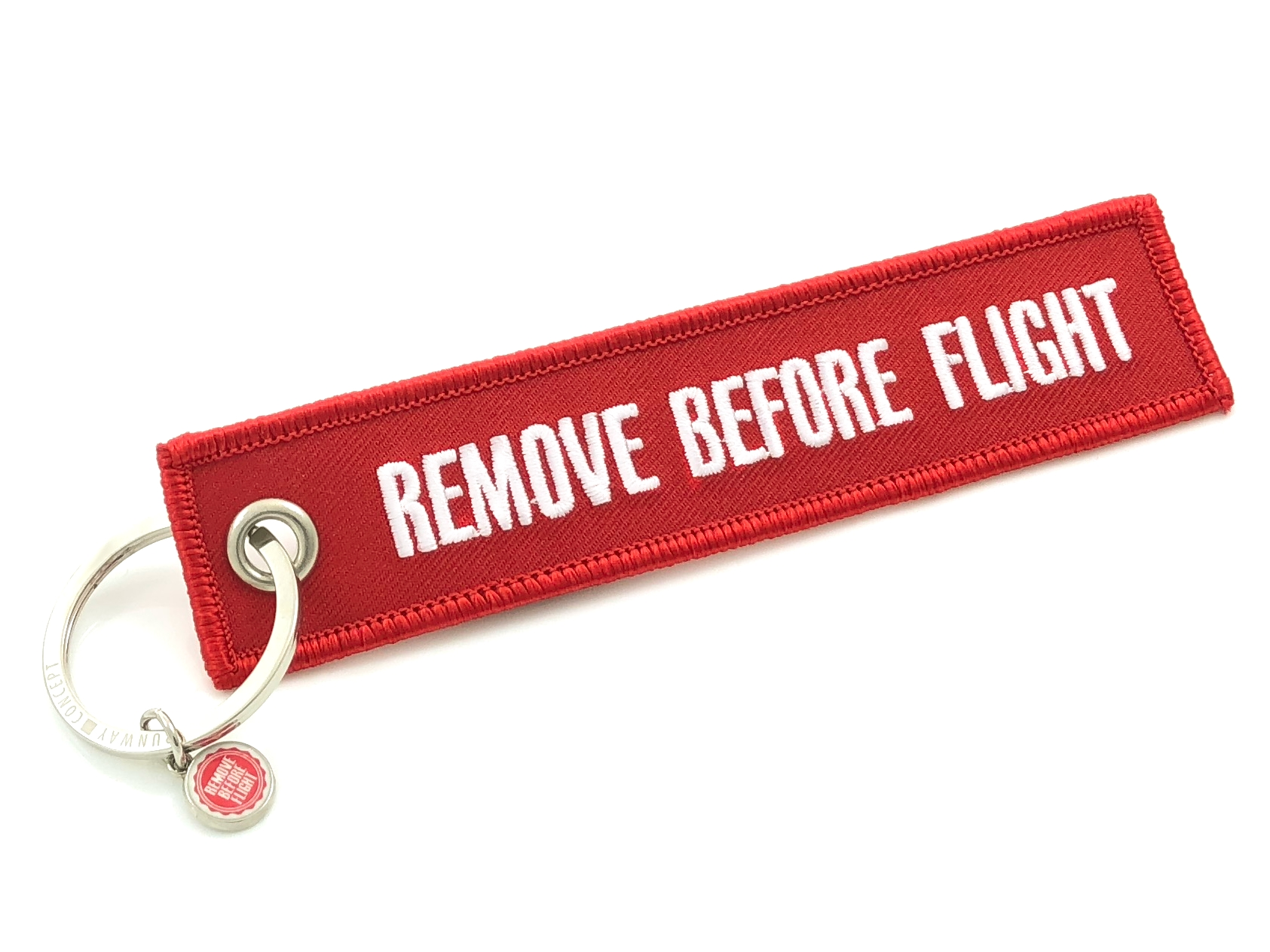 """RBF-Originals Schlüsselanhänger """"Remove Before Flight"""""""