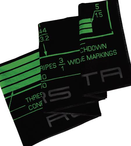 "Rogers Data Badetuch ""Runway Markings"" 90 x 180 cm"