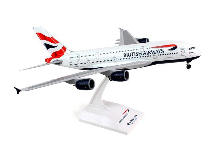 SkyMarks - Flugzeugmodell Airbus A380-800 British Airways (1:200)