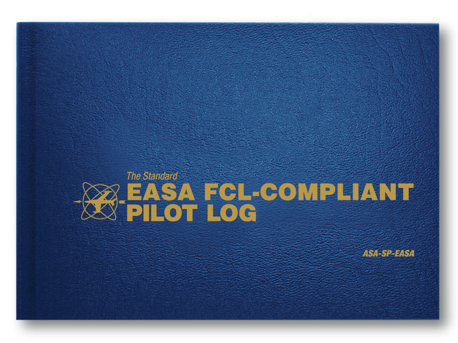 "Flugbuch ""The Standard EASA FCL-Compliant Pilot Log"""