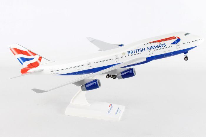 SkyMarks Flugzeugmodell British Airways Boeing 747-400 Maßstab 1:200 SKR304
