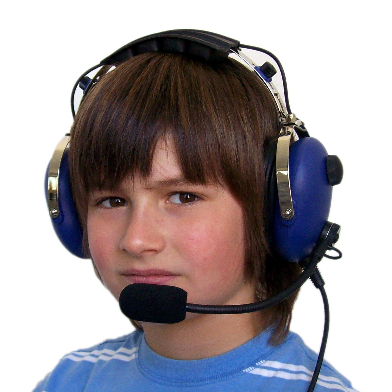 AeroStar Flugzeug-Headset für Kinder