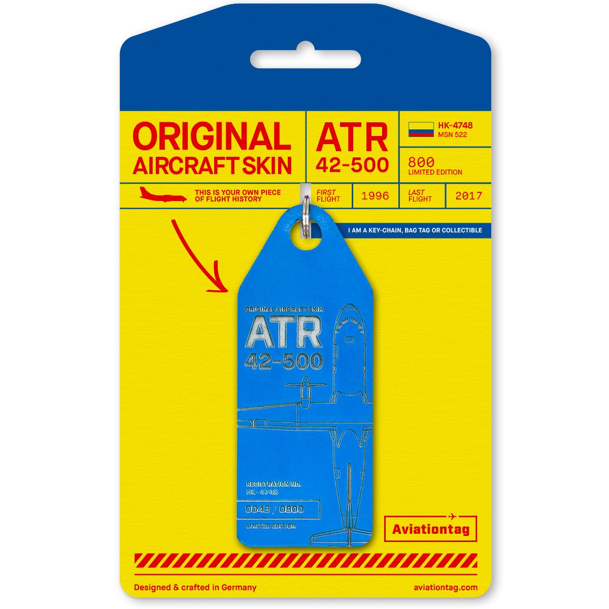 Aviationtag - ATR 42 – HK-4748