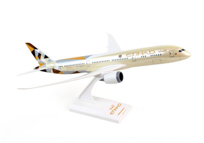 SkyMarks - Flugzeugmodell Boeing 787-9 Etihad Scale (1:200)