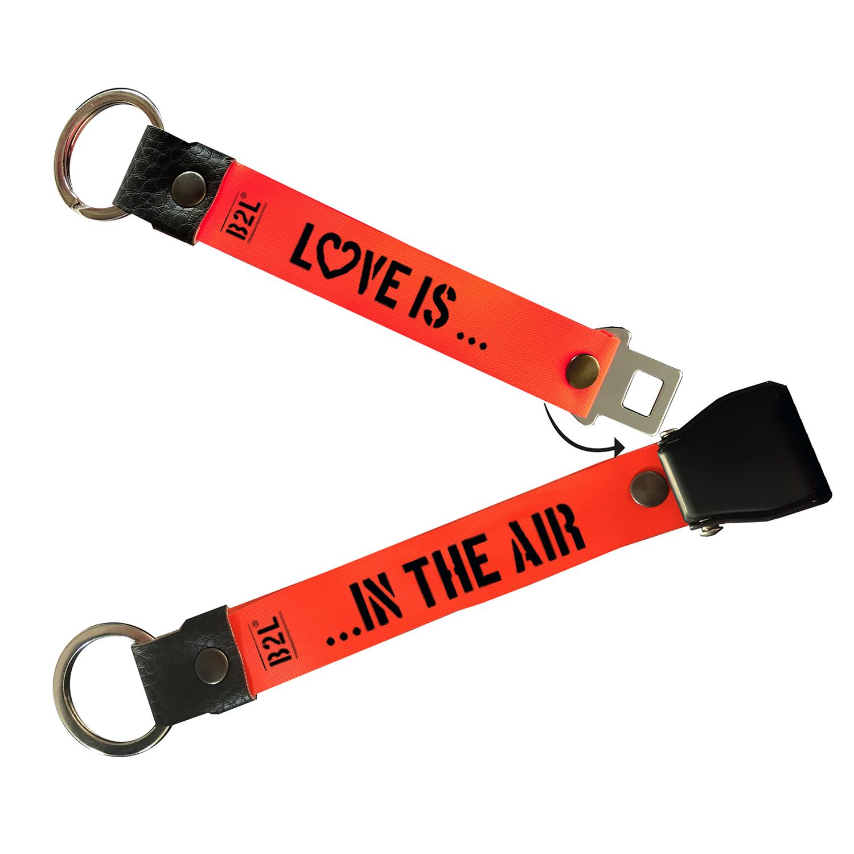 Bag to Life Schlüsselanhänger Partner-Keyholder LOVE IS...IN THE AIR