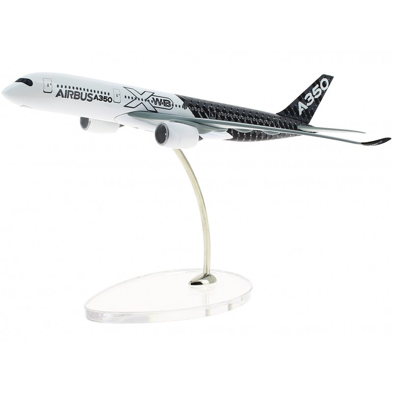 Flugzeugmodell Airbus A350XWB Carbon 1:400