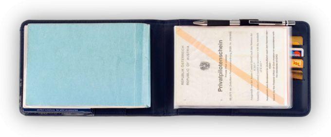 "Design4Pilots - Schutzhülle für Flugbücher ""Pilot Logbook"""