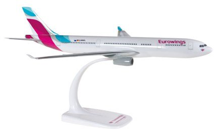 Limox - Flugzeugmodell Airbus A330-200 Eurowings (1:200)