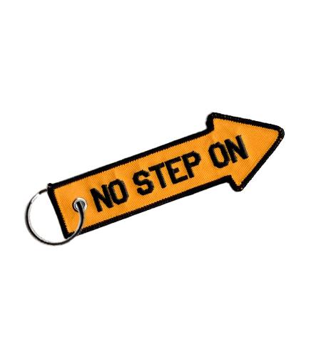Rogers Data Schlüsselanhänger No Step On