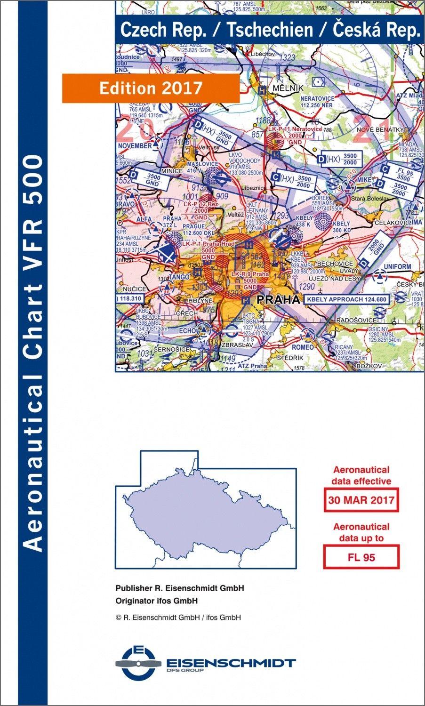 ICAO VFR Flugkarte 500 Tschechien 1:500.000